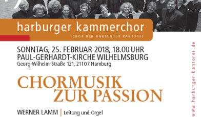 Chormusik - Copyright: Harburger Kammerchor